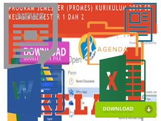 KKM Promes Prota Kelas 4 SD Kurikulum 2013 Edisi Revisi 2016
