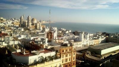 cádiz-vista de la ciudad