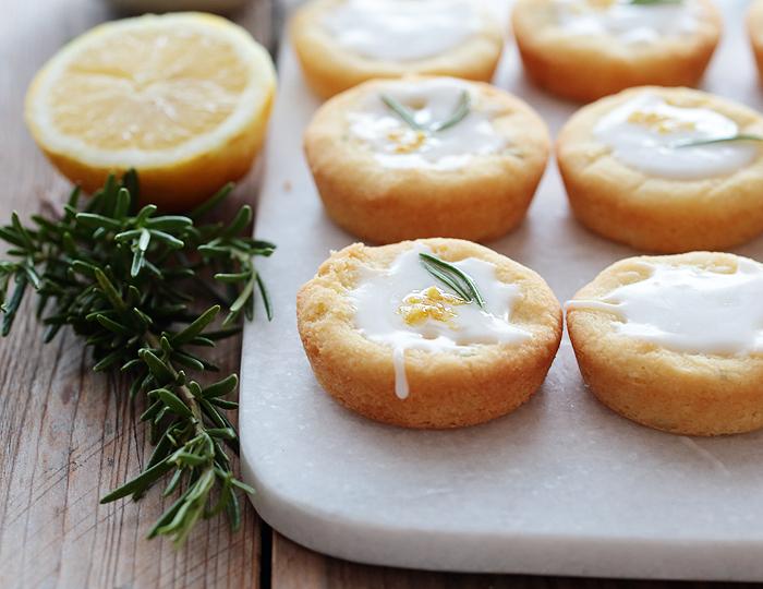 Shortbread Kekse Zitronen Rosmarin Rezept