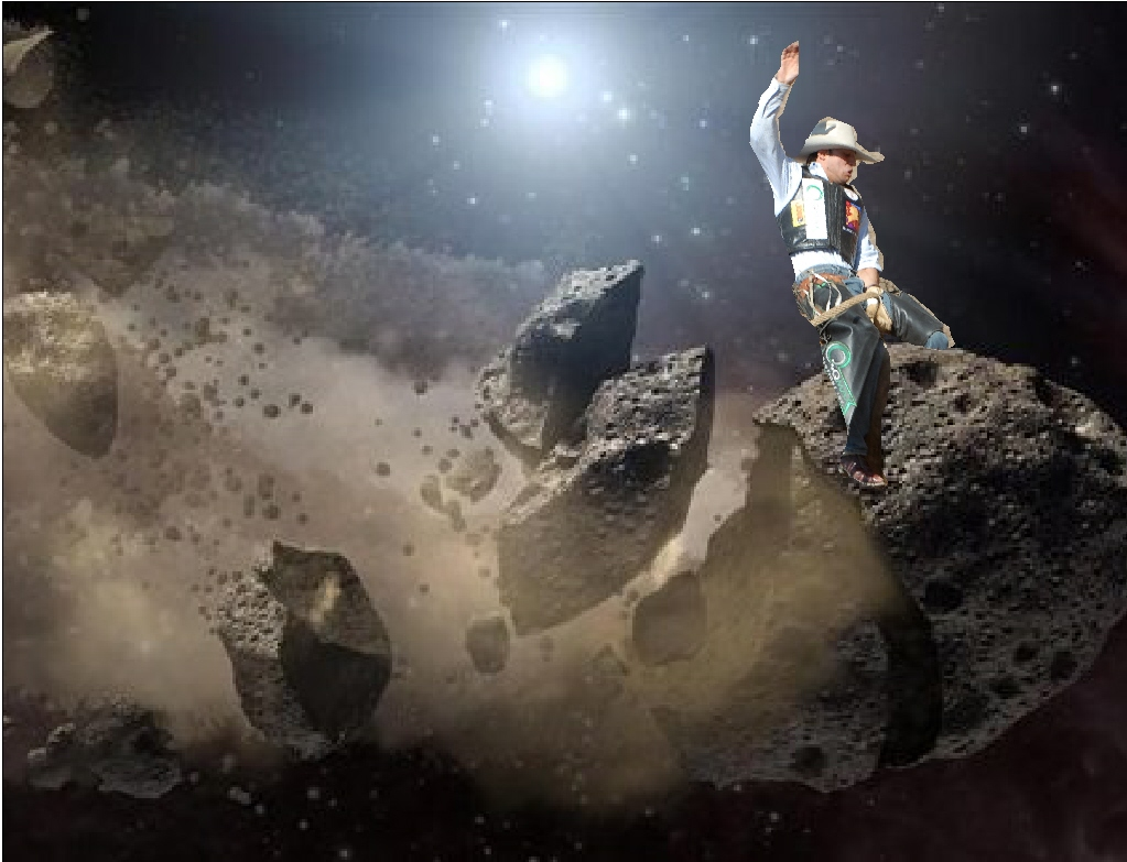 Blue Cheese Nation: Let The Asteroid Rodeo Begin!