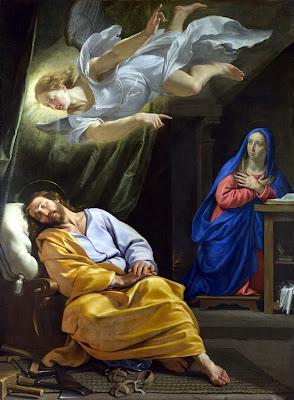 Imagem do sonho de São José, pintura, #1