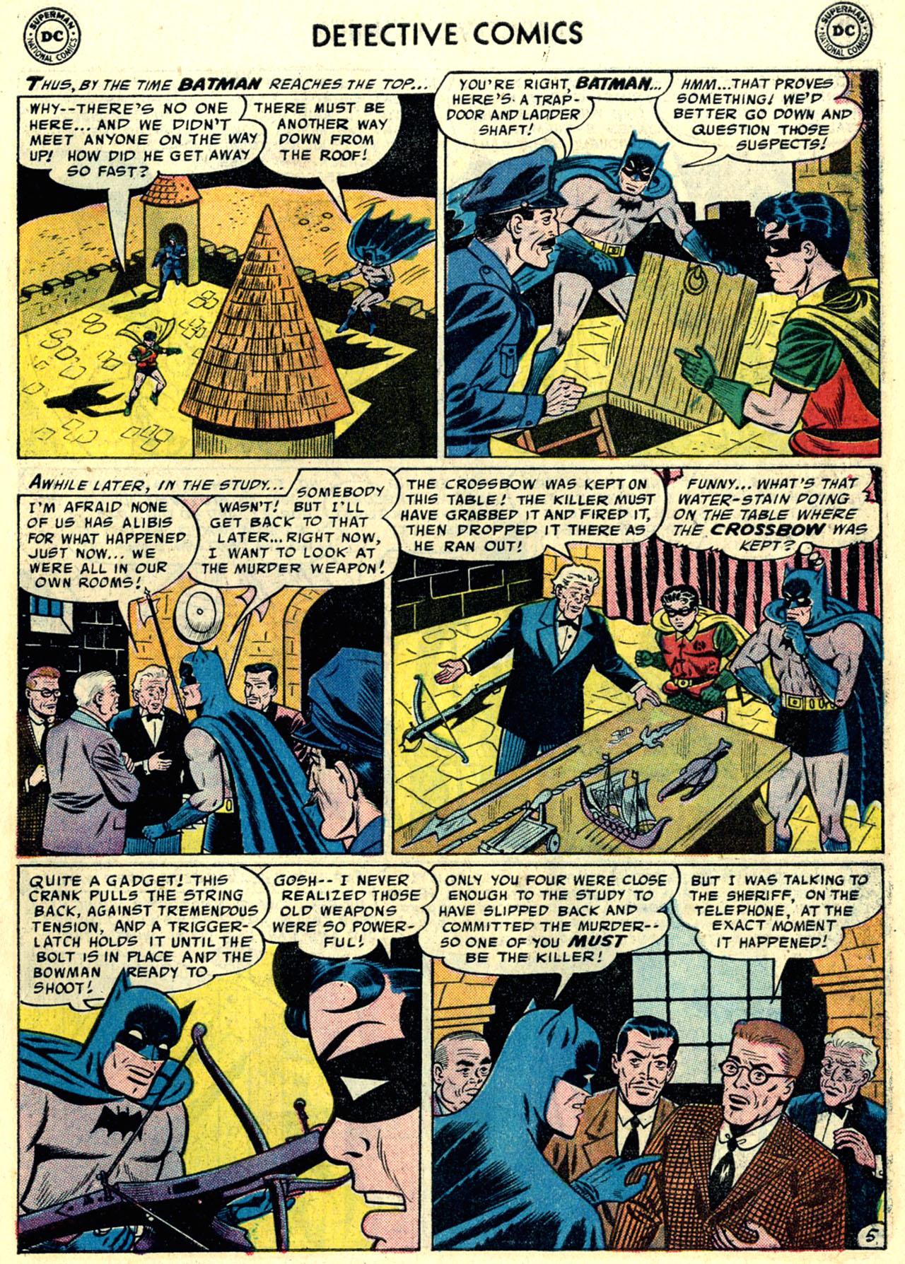 Read online Detective Comics (1937) comic -  Issue #246 - 7