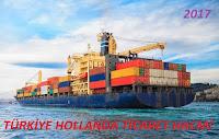 Türkiye Hollanda Ticaret Hacmi 2018
