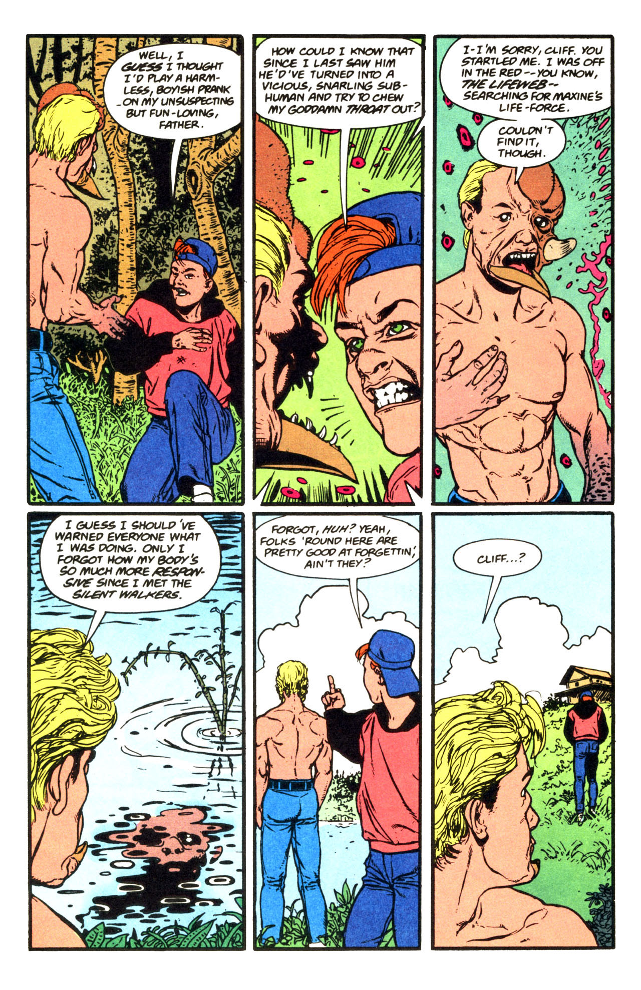 Read online Animal Man (1988) comic -  Issue #67 - 11