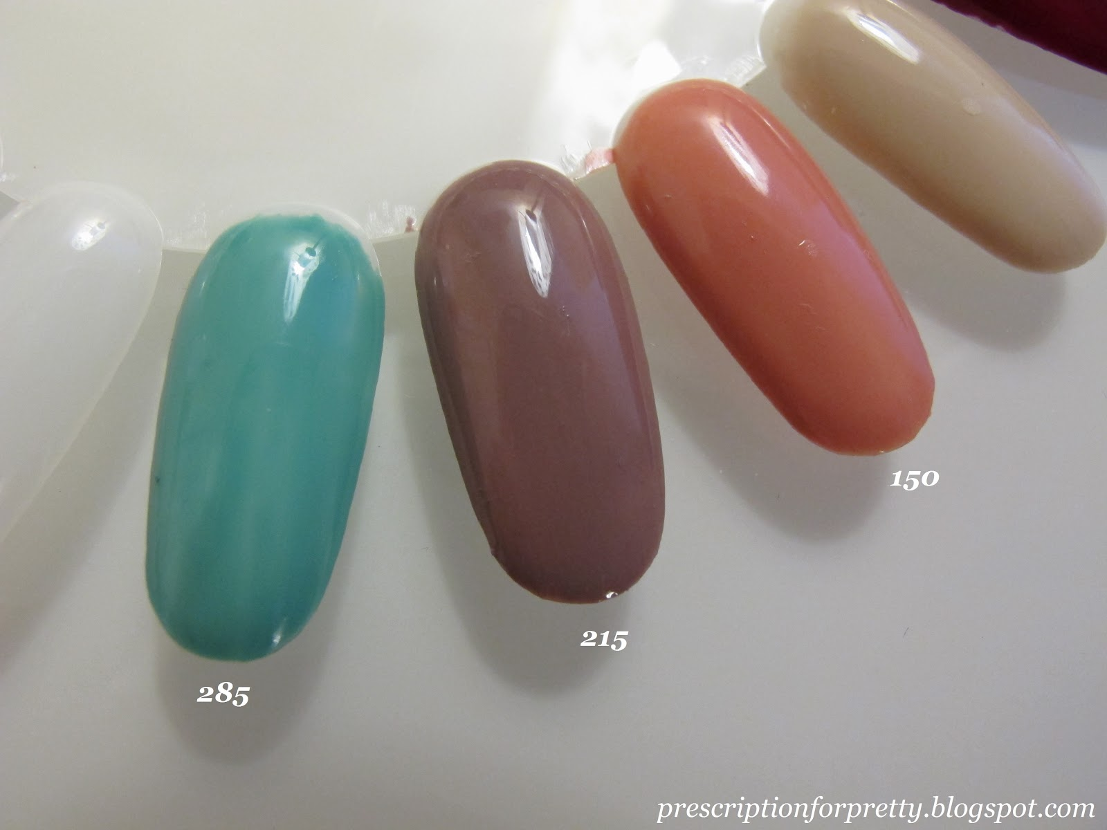 Prescription For Pretty Covergirl Outlast Stay Brilliant Nail Gloss New Nail Polish Swatches