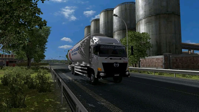 Download mod truck hino 500 ets2