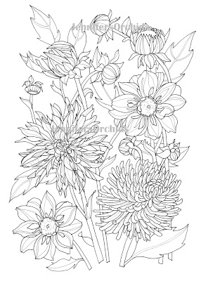 Allerlei Kleurplaten Herfst.Schilderijen Van Orchideeen Andere Botanische Werken Kleuren Voor