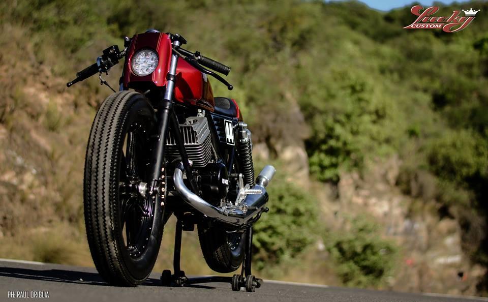 ϟ Hell Kustom ϟ: Yamaha RD400 By Lucky Custom