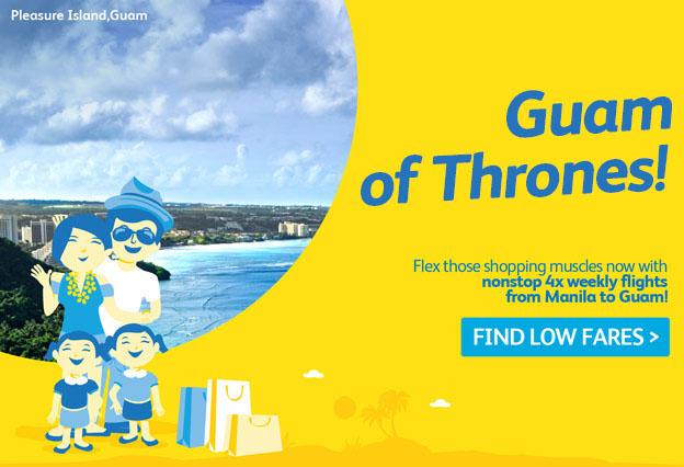 Cebu Pacific Find Low Fares Guam 2016