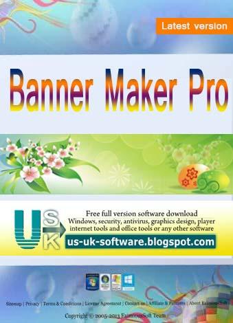 Banner Maker Pro 9.0.3 Free Download For Windows OS 32-64bit