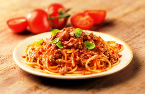 Spagetti Bolognese Italy