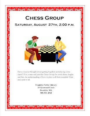 http://franklinpl.blogspot.com/2016/08/chess-group-saturday-august-27-2-4-pm.html