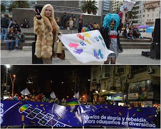 Marcha de la Diversidad. 2015. ATRU.