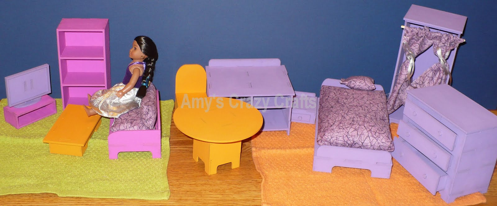 american girl doll chairs adirondack chair covers canada amy s crazy crafts 6 inch furniture mini the last few weekends i have been working on 5 for my