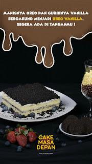 Varian Rasa dan Harga Cake Masa Depan by Atta Halilintar