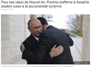 Vladimir Poutine Bachar el-Assad