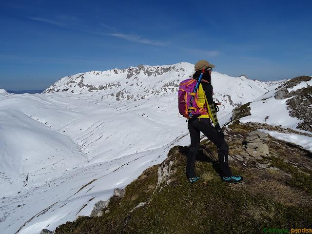En la cima del Pico la Llana