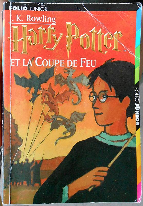 Le gar on qui lit harry potter et la coupe de feu - Harry potter et la coupe du feu ...