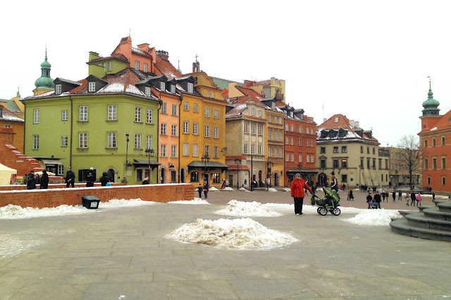Old Town Warsaw, Poland.