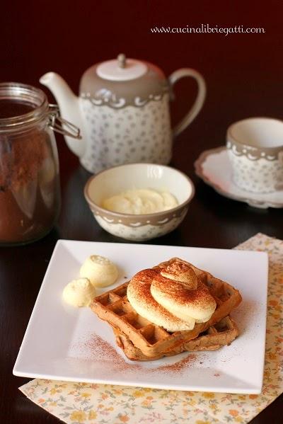 waffel caffè crema al mascarpone ricetta