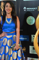 Madhu Shalini Looks Super Cute Slim trim Blue Choli Ghagra IIFA Utsavam Awards 025.JPG
