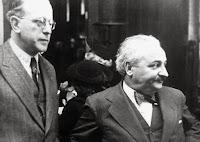 1925 Albert Einstein en Rosario recibido por Teodoro Fracassi