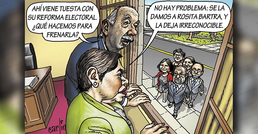 Carlincaturas Miércoles 6 Marzo 2019 - La República