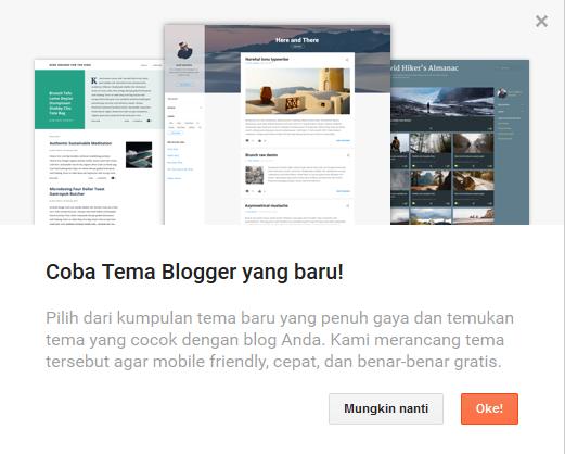 Tema Blogger Baru