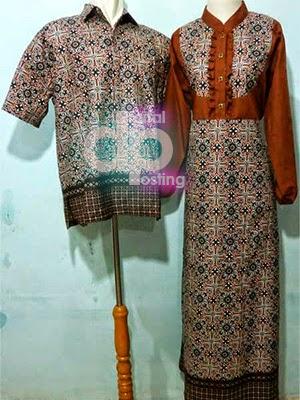 Gamis Batik Couple