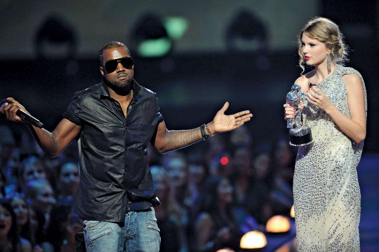 """Se revela vídeo de Taylor Swift aprobando la letra de """"Famous"""" de Kanye West"""
