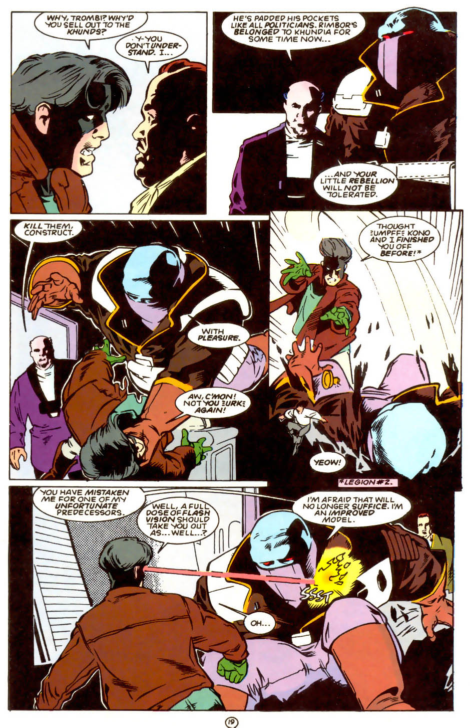 Legion of Super-Heroes (1989) 56 Page 19