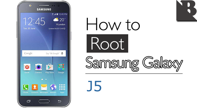 How To Root Samsung Galaxy J5 SM-J500 And Install TWRP Recovery