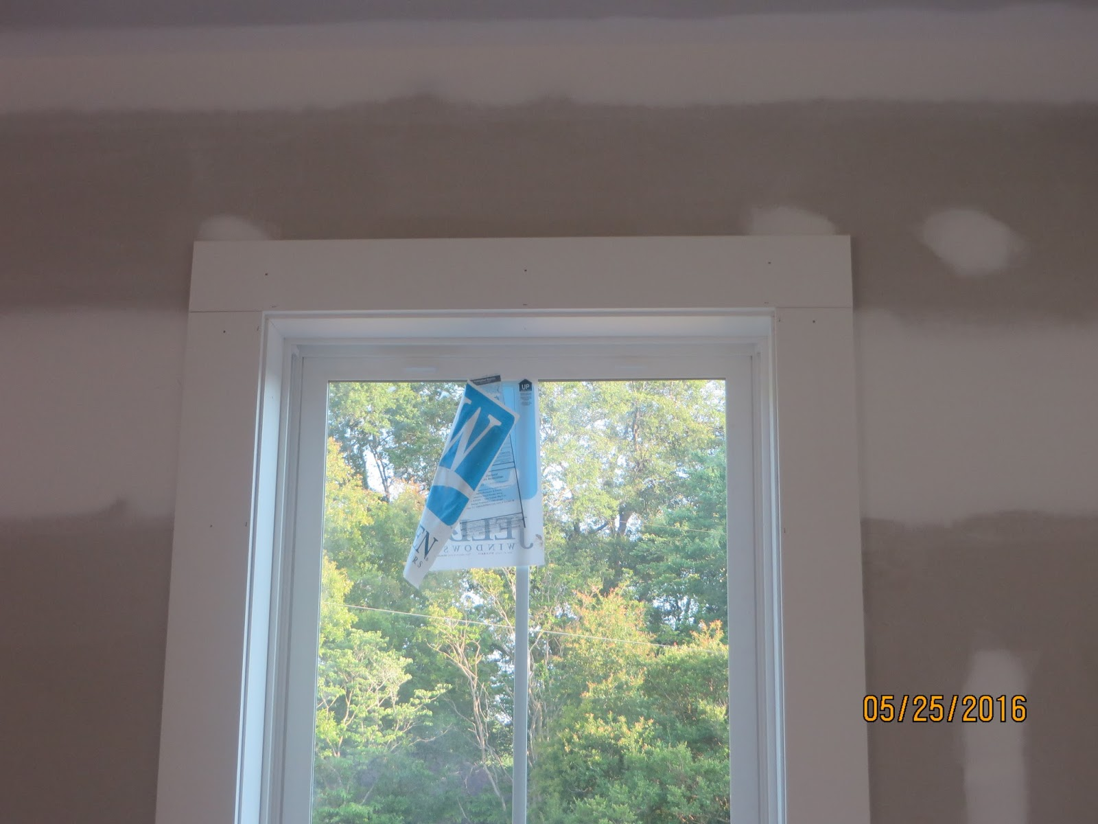 The rogers home interior window trim for Interior window casing styles