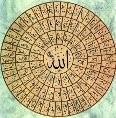 Image result for Pengertian asma Allah Ul Husna