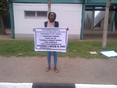 Nigerian Unemployed youths seeking job employment444