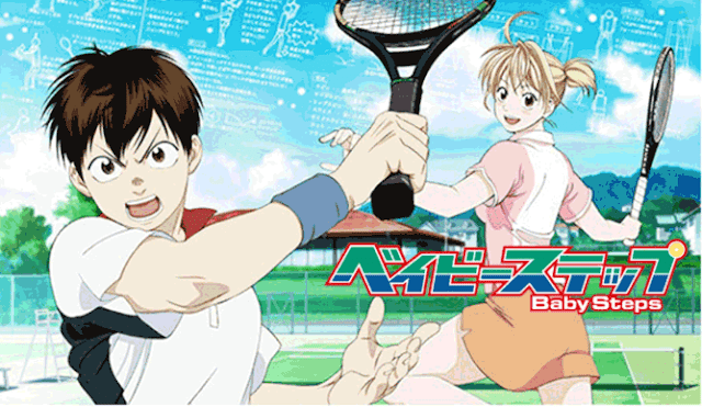 Baby Step - Daftar Anime Sport terbaik Sepanjang Masa