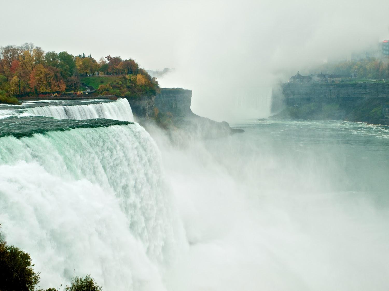 American Falls, desde Estados Unidos