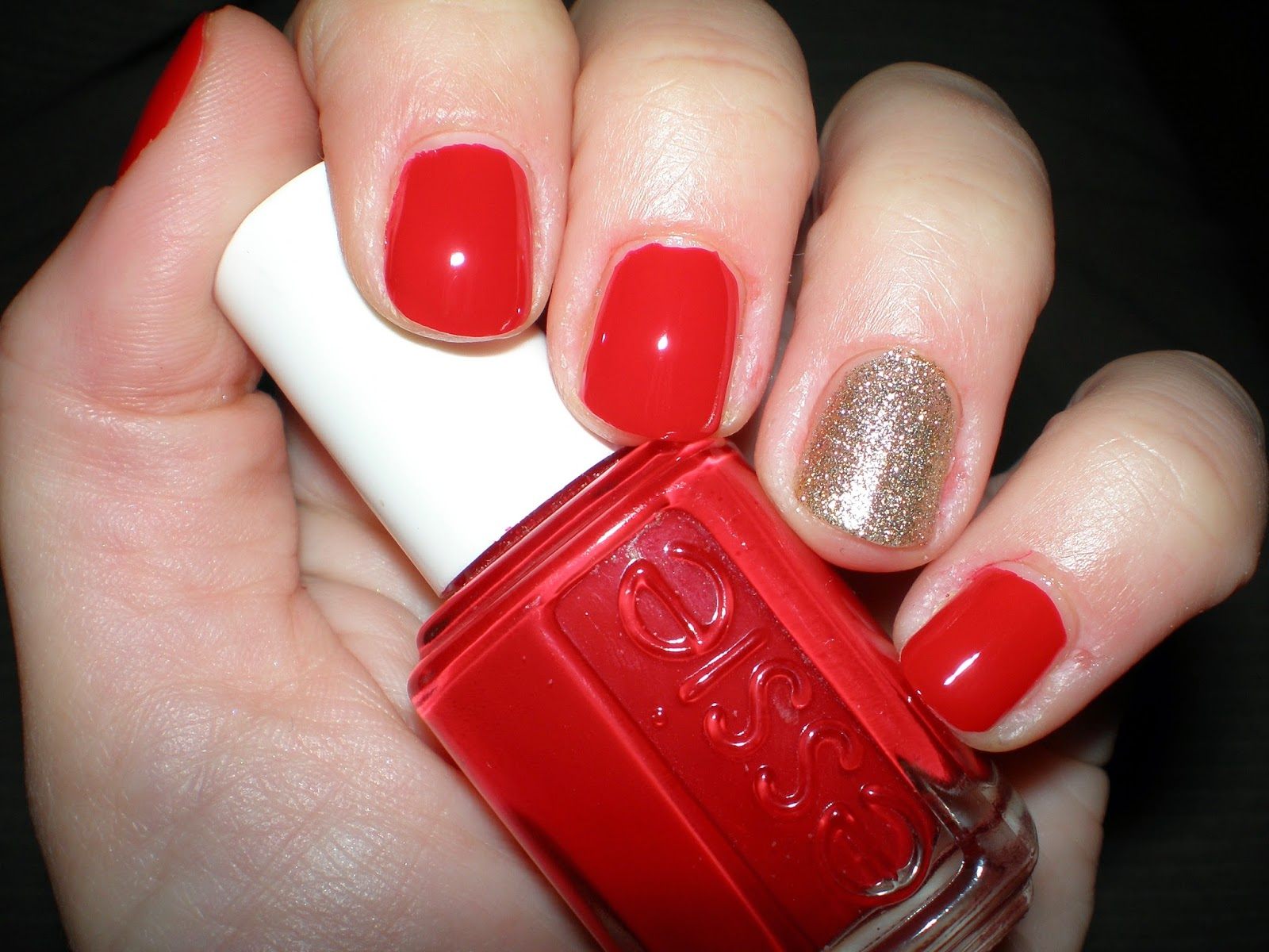 Essie nail polish in Pouf Daddy