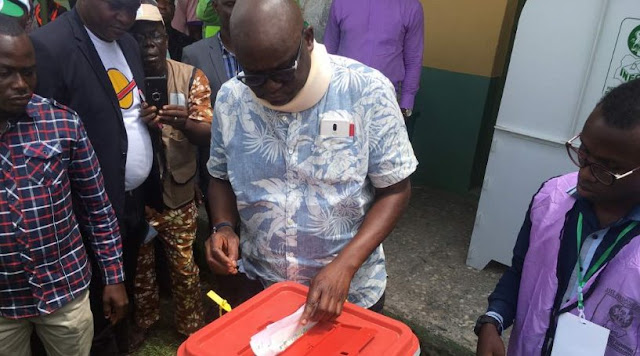 BREAKING: Fayose speaks on Ekiti poll, says he can never be suppressed