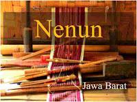 Lirik lagu Nenun daerah Jawa Barat