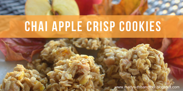 Fill the Cookie Jar with No-Baked Cookies made with fresh apples and instant chai tea mix, a perfect Fall treat.