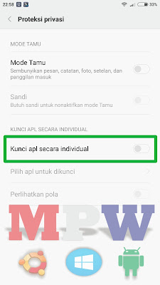 kunci aplikasi