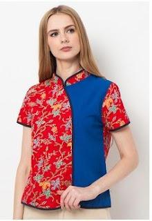 Model Baju Batik Terbaru Elegan