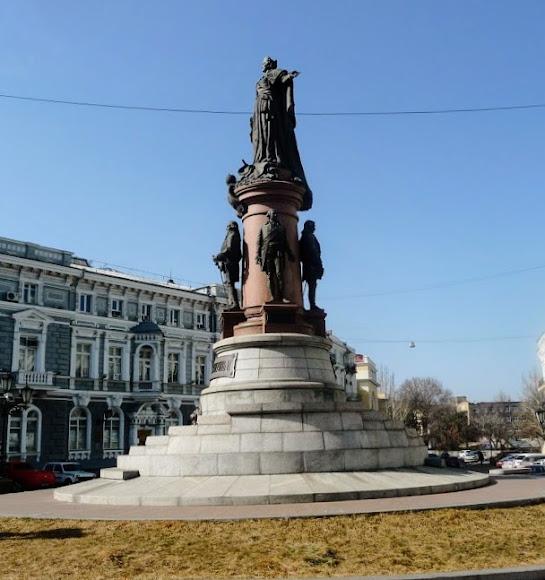 Одеса. Пам'ятник засновникам Одеси