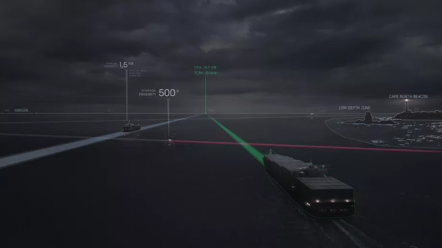 Rolls-Royce's Intelligent Awareness system coordinates data from multiple systems to tell crew about nearby vessels and obstacles.