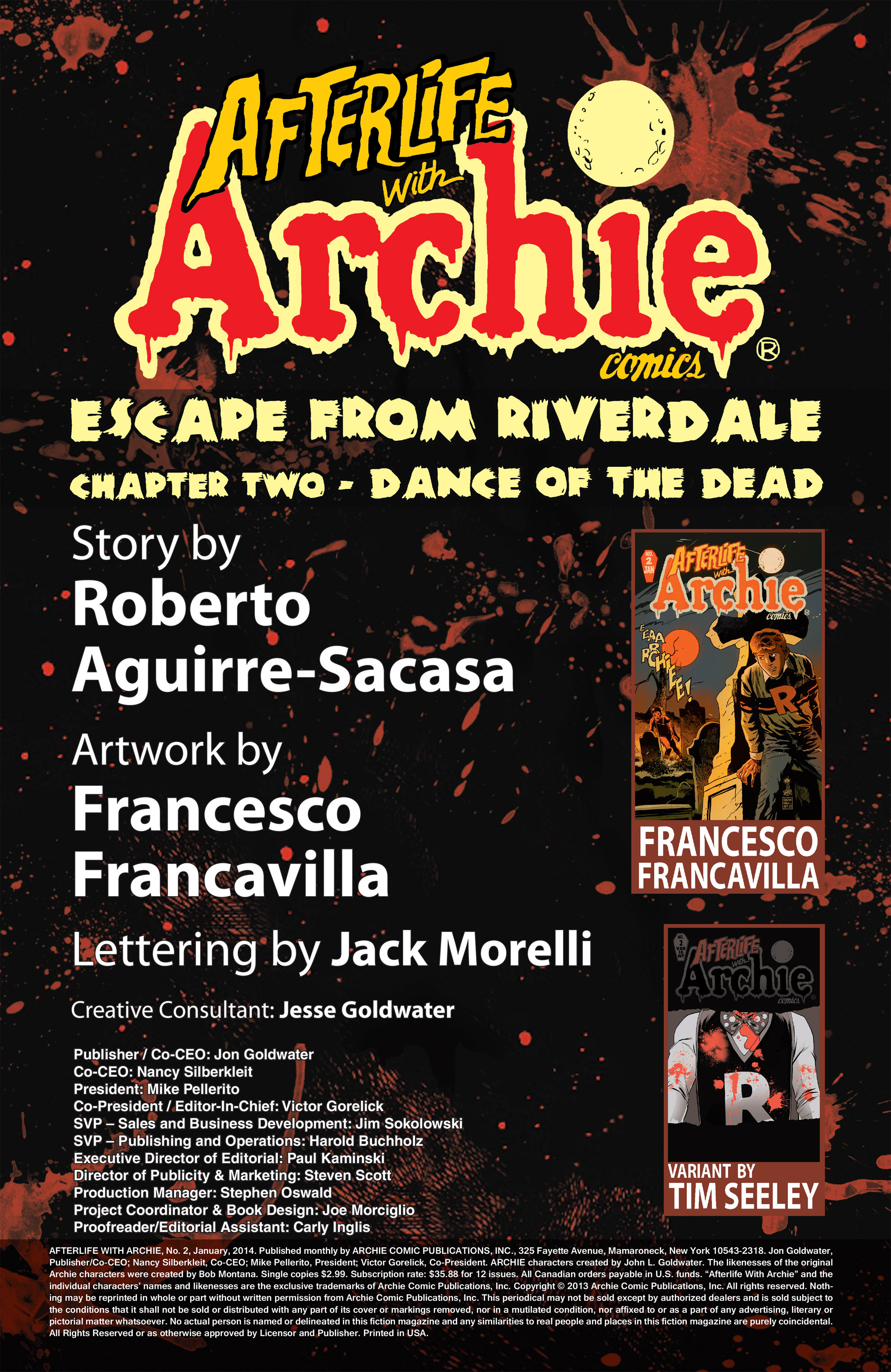 Read online Afterlife with Archie comic -  Issue #2 - 2