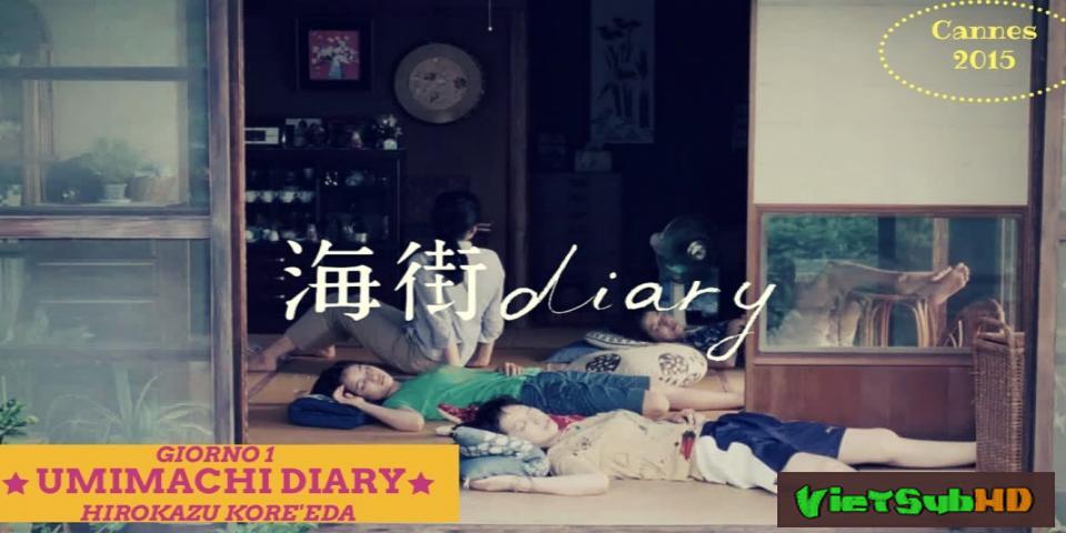 Phim Em gái bé nhỏ / Nhật ký Umimachi VietSub HD | Our Little Sister / Umimachi Diary 2015