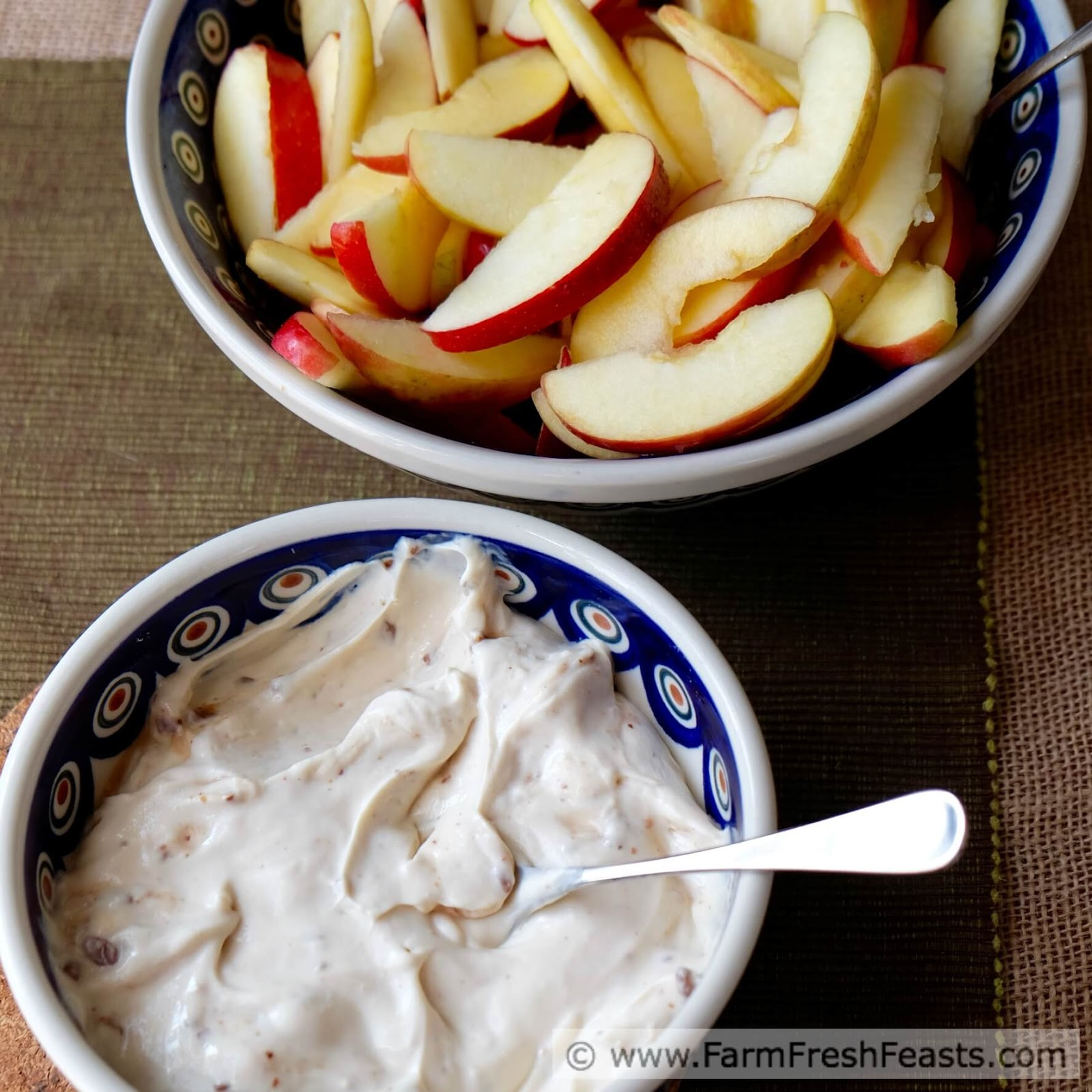 Farm Fresh Feasts Cream Cheese Toffee Dip For Fruit My