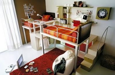 cama dormitorio pequeño