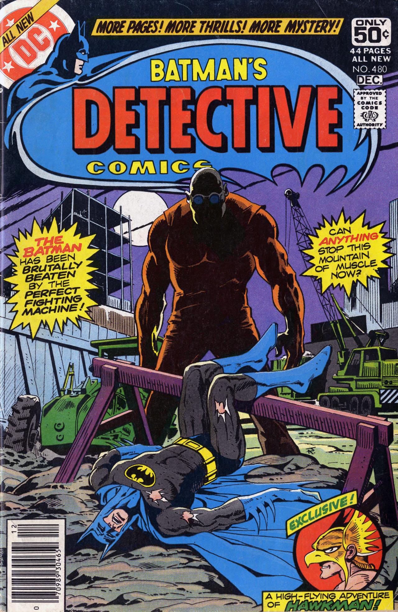 Detective Comics (1937) 480 Page 0